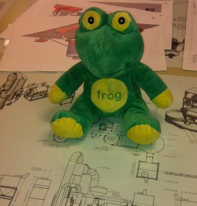 Frog Quaffer visits the Diedrich Engineers