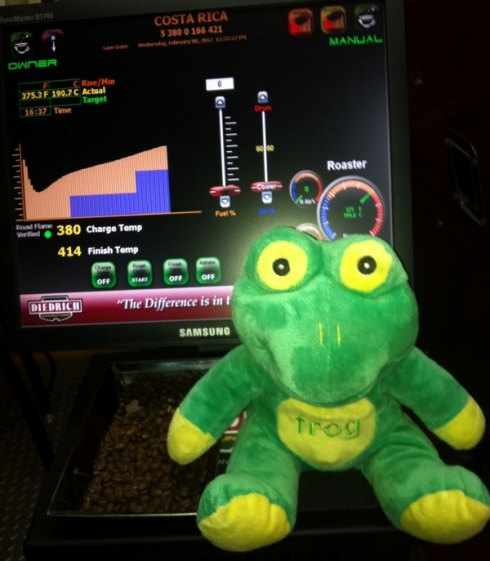 Frog Q with the first Profile
