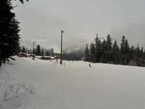 Skiing at Schweitzer