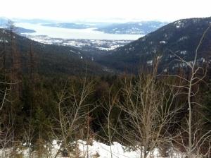 View From Schweitzer Mountain