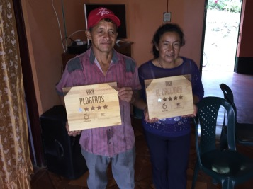 Horta and Lucilia Medina with the achievment